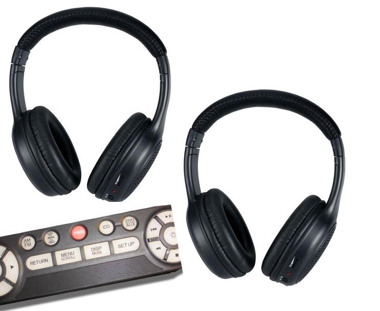 Honda Pilot Headphones And Dvd Remote 2009 2010 2011 2012 2013 2014 2015