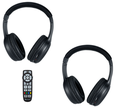 Chrysler Town and Country BLURAY remote and headphones