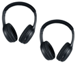 Chrysler Town and Country  Leather Look Two Channel IR Headphones 2006 2007 2008 2009 2010 2011 20012 2013 2014
