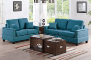 The Teal Studded With Elegance Living Room Collection