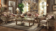 The Vendome Bone Fabric Living Room Collection