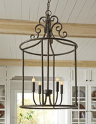 The Jarah Metal Pendant Light