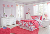 The 4pc Anarasia Youth Bedroom Collection