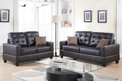 The Espresso Boldness Living Room Collection