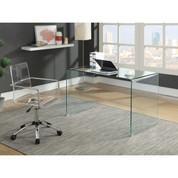 The Caraway Glass Writing Desk