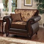 The Franklin Dark Brown Chair