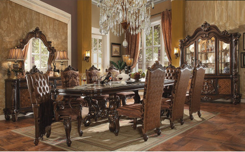the versailles cherry oak royal dining room collection - miami