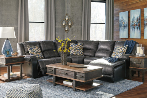 The Stanah Lift-Top Coffee Table Set - Miami Direct Furniture