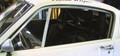 R-Model Side Window Frames, (pair) 1965-66 Shelby/Mustang Fastback, Plexiglass NOT included