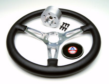 Complete Leather Steering Wheel Kit