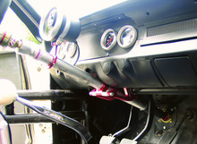 "Collapsible Steering Column, Woodward, 1965-'66 Mustang/Shelby (must specify column ""drop"" 7"", 8"" or 9"")"