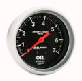 Pictured:  Gauge, 0-100 psi Oil Pressure (Part # ATM-3421).