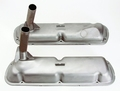 Pictured:  Shelby R-Model exact reproduction Valve Covers (Part # 100-VC65R).