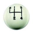 Hurst White classic shift ball 4 sp, 3/8-24