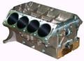 Pictured:  Aluminum Genesis 427 FE w/billet steel main caps, 10.170'' deck, 4.240'' bore (Part # GEN427-AB-4.240).