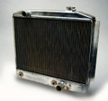 Radiator with Heat Exchanger (pass. side fill neck with no recess; driver side inlet) rated for 600 hp