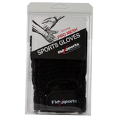 FlexSports-International-Pro-Mesh-Gloves-Black-Large-1-pr | Muscleintensity.com