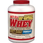 Met-Rx-100%-Natural-Whey-5-lb-Vanilla | Muscleintensity.com