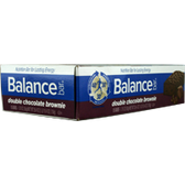 Balance-Bar-Double-Chocolate-Brownie-15ct | Muscleintensity.com
