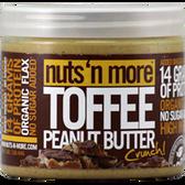 Nuts-'N-More-Toffee-Crunch-Peanut-Butter-16-oz | Muscleintensity.com