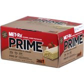 Met-Rx Prime Bar Strawberries and Cream 6ct | Muscleintensity.com