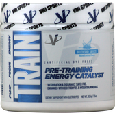 VMI Sports TRAIN Preworkout Blueberry Breeze 32 svg | Muscleintensity.com