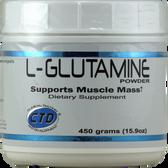 CTD L-Glutamine 450 g | Muscleintensity.com