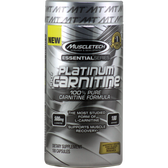 MuscleTech Essential Series Platinum 100% Carnitine 180 ct | Muscleintensity.com