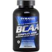 Dymatize Nutrition BCAA Complex 2200 400 ct | Muscleintensity.com