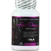NLA for Her Her Omegas Lemon Flavor Soft Gel 100 ct | Muscleintensity.com