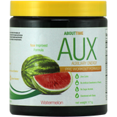About Time AUX Pre-Workout Watermelon 30 svg | Muscleintensity.com