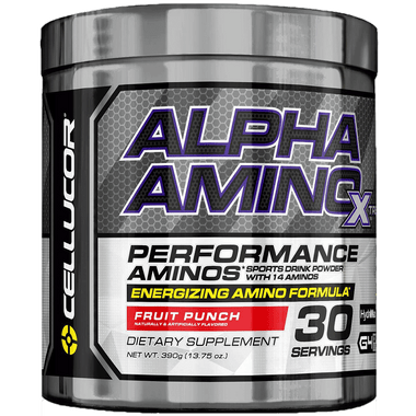 Cellucor GEN4 Alpha Amino Xtreme Fruit Punch 30 svg | Muscleintensity.com