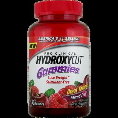 MuscleTech Hydroxycut Gummies Mixed Fruit 60 ct | Muscleintensity.com