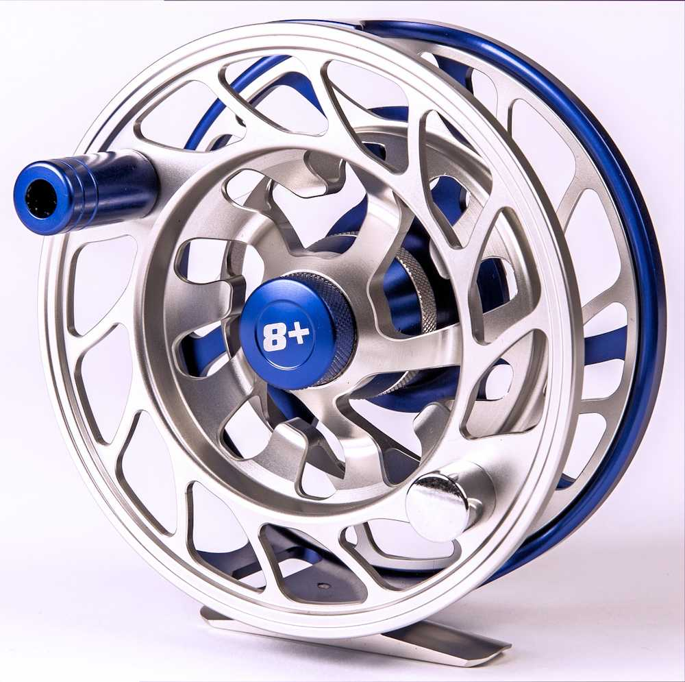saltwater fly reel | carbon fiber drag | size 8 - 10 wt line, Fishing Reels