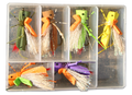 FlyBass Mega Hopper Poppers - 6/pack