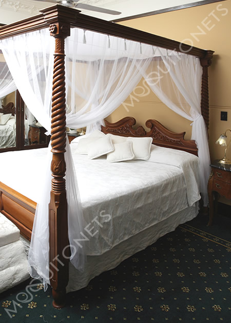 Mosquito nets for Bed with mosquito net decoration
