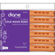 """Diane Long Cold Wave Rods 12 Pack DCW1 3/4"""" Tangerine"""