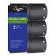 "Diane Magnetic Rollers 6 Pack D2726 2 1/2"" Black"