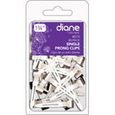 "Diane 1 3/4"" Single Prong Clips D15 80 Pack"