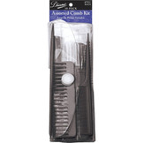 Diane Assorted Comb Kit 10 Pack