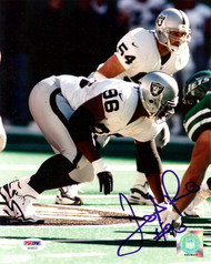 Darrell Russell Autographed 8x10 Photo Oakland Raiders PSA/DNA #AA36923
