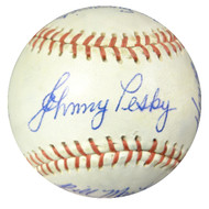 1962 Seattle Rainiers Team Signed Autographed Baseball With 21 Signatures Including Johnny Pesky SKU #102570