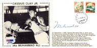 Muhammad Ali Autographed First Day Cover Vintage PSA/DNA #E47089