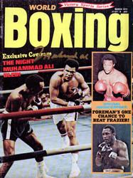 Muhammad Ali Autographed Boxing World Magazine Vintage PSA/DNA #H47564