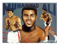 Muhammad Ali Autographed 8.5x11 Photo Vintage PSA/DNA #H58643