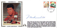 Muhammad Ali Autographed First Day Cover Vintage PSA/DNA #H58744