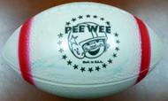 Brian Piccolo Autographed Mini Plastic Football Chicago Bears JSA #Z02962