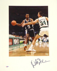 Dale Ellis Autographed 16x20 Matted Photo San Antonio Spurs PSA/DNA #AB53610