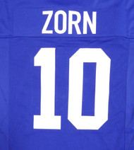 Seattle Seahawks Jim Zorn Blue Jersey To Be Signed By Jim Zorn