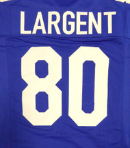 Seattle Seahawks Steve Largent Blue Jersey To Be Signed By Steve Largent